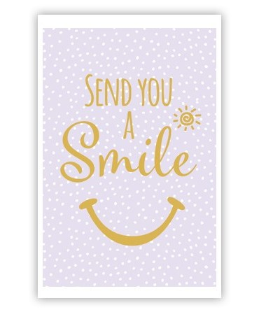 Sent you a smile