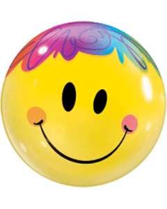 Bubble ballon Bright Smile Face.