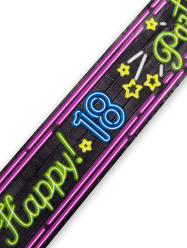 Neon party tape - 18