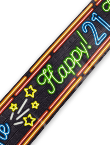 Neon party tape - 21