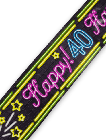 Neon party tape - 40