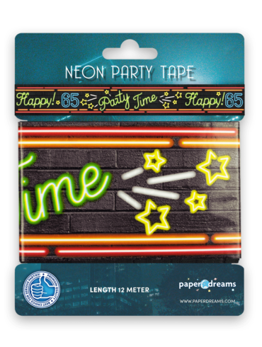 Neon party tape - 65