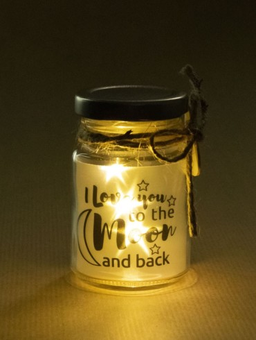 Little star light - to the moon and back